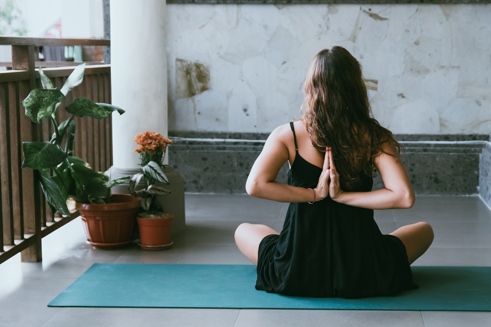 4 Yoga Poses to Soothe Restlessness and Anxiety