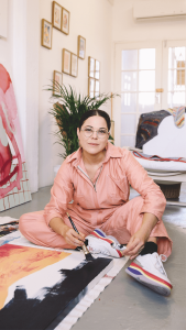 Amy Ayanda Painting