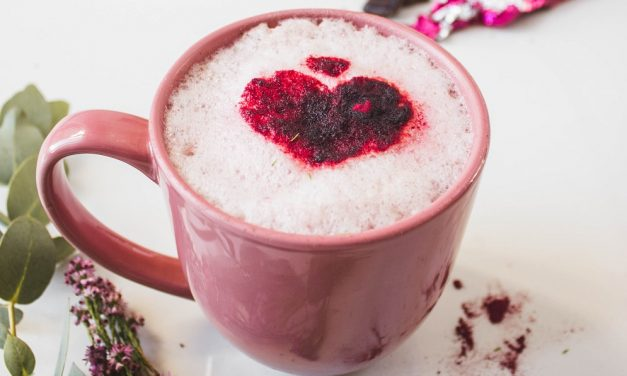 Beetroot & Cacao Latte