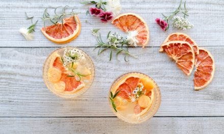 Kombucha Mocktails for Summer: Blushing Citrus Tonic