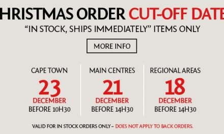 Your Christmas order cut-off dates Greenies!