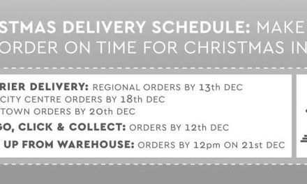 Our Christmas Order Cut-Off Dates Greenies!