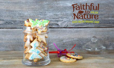 DIY gift: Festive Vegan Cookies