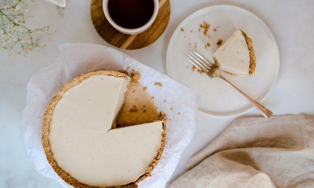 Vegan Rooibos Coconut Custard Tart