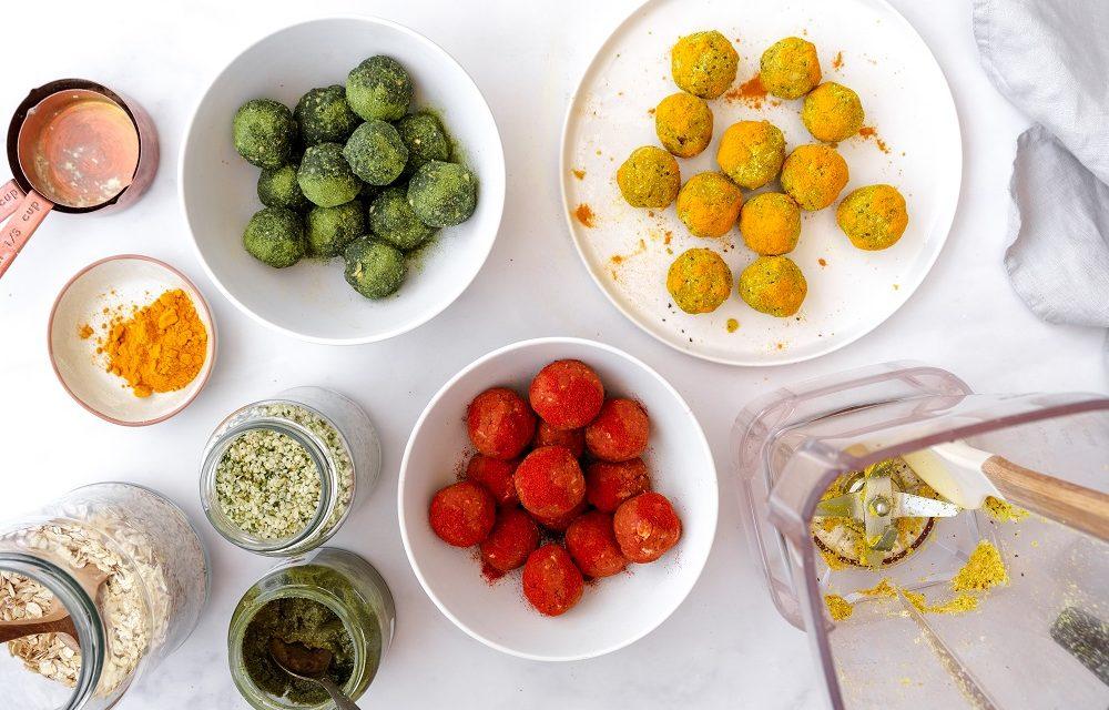 3 Savoury Bliss Ball Recipes
