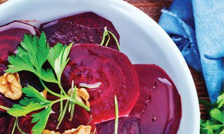 Sweet and Sticky Roasted Beetroot (Balsamic Vinegar and Date Syrup)