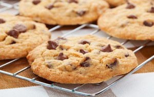 Gluten-Free Chickpea Flour & Chocolate Chip Cookies