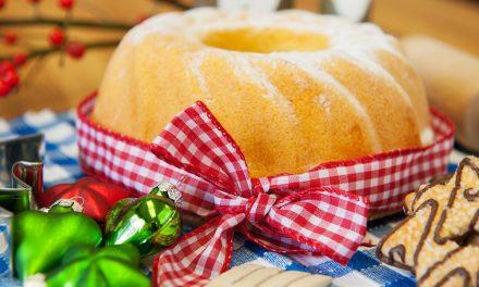 Christmas Wreath Cake: Gluten-Free Buckwheat Apple Ring Cake
