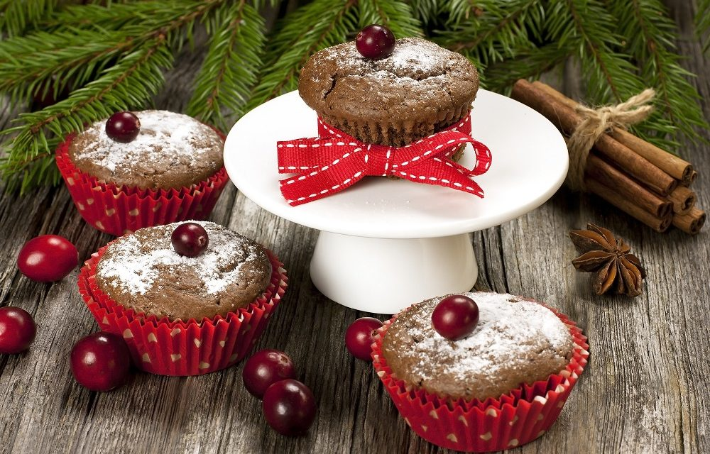 Perfect Paleo Christmas Muffins with Organic Spice
