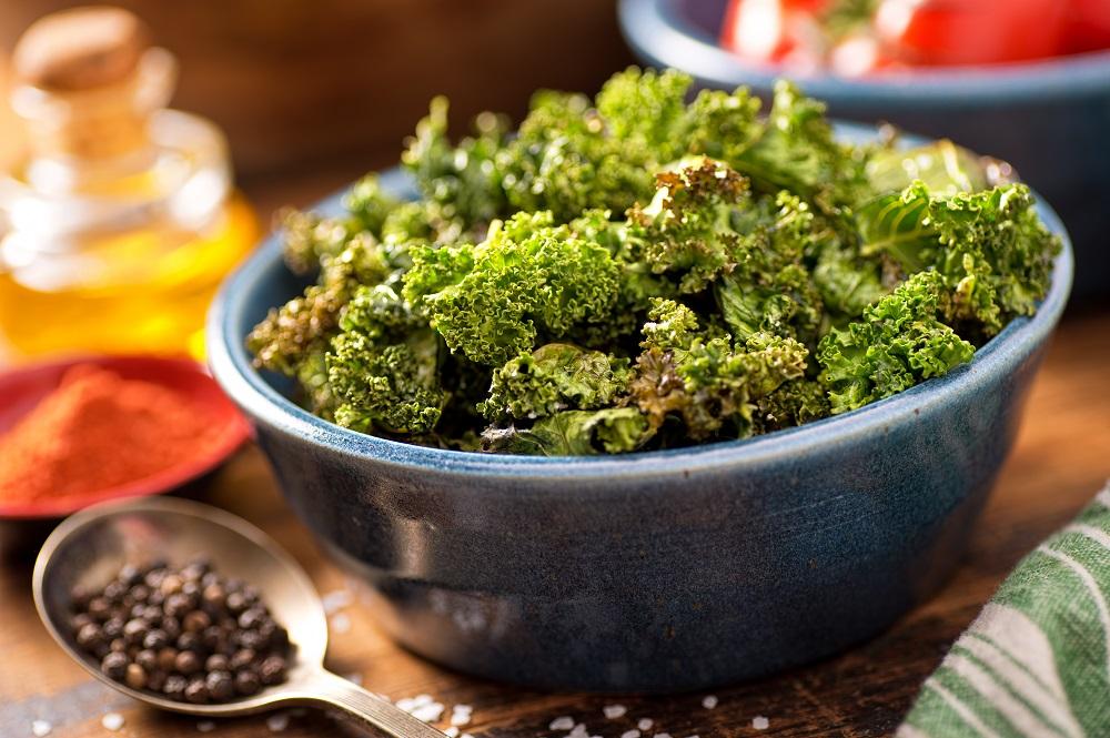 Make Your Own Delish Crispy Kale Chips