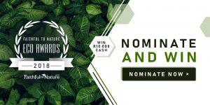 Faithful to Nature-Eco Awards- Header