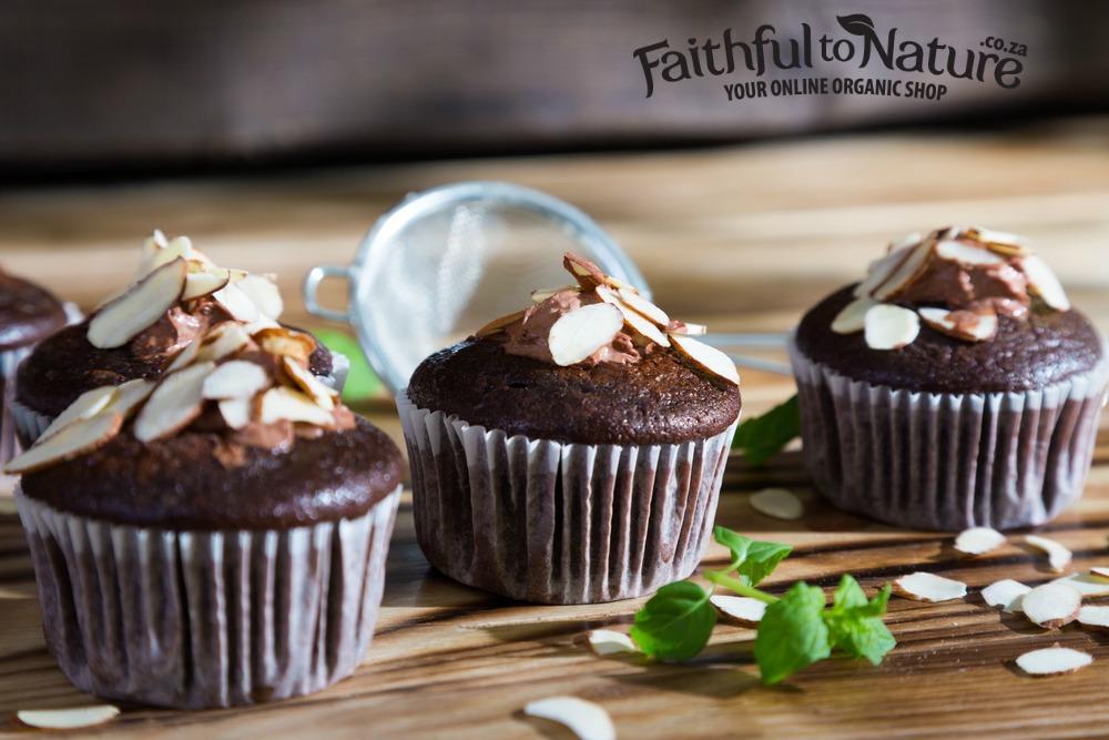 Fudgy Vegan beetroot cupcakes