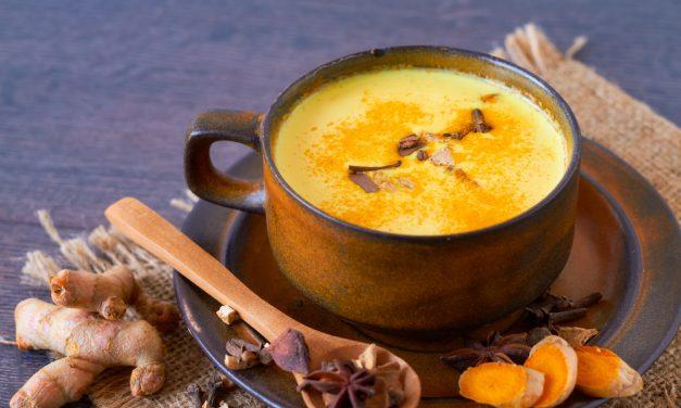 Golden Turmeric Immune Boosting Elixir for Winter Chills