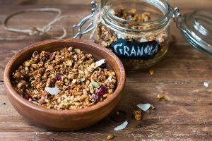 Raw Vegan Breakfasts Granola