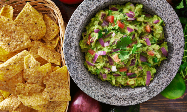 Detoxifying Guacamole with Kale and Cayenne
