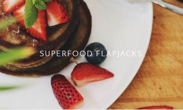 Wazoogles chocolate superfood flapjacks
