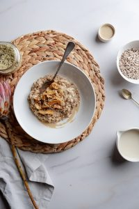 Healthy Sunflower Seed Breakfast Risotto 2