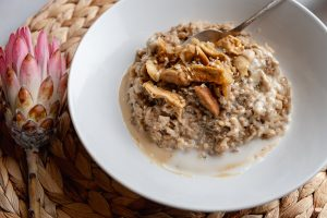 Healthy Sunflower Seed Breakfast Risotto 3