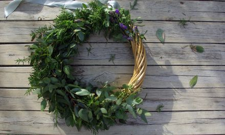 Herb wreaths: the festive equivalent of a zen garden and why you should make one this season
