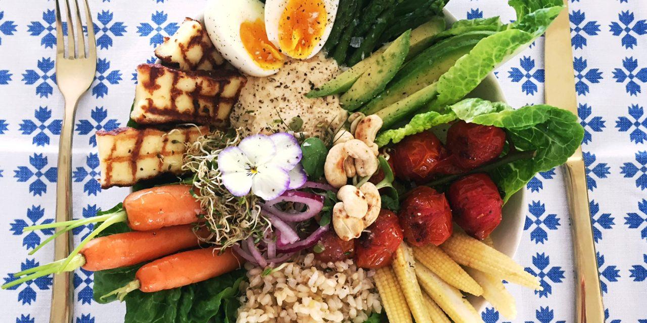 Vicki Sleet's recipe for a delicious nourish bowl