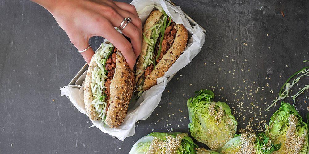 Jackfruit-burger-