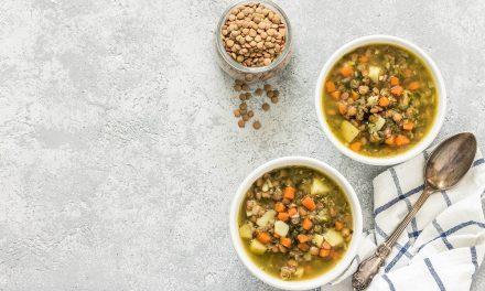 Warming Winter Recipe: Lentil Stew served over Quinoa