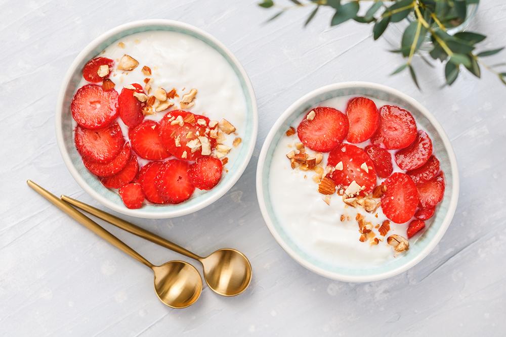 "Make your own dairy-free coconut milk yogurt"""