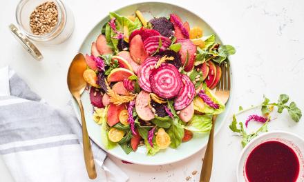 Marinated Beetroot and Apple Salad
