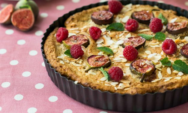 Fig and Almond Frangipane Tart (Sugar and Gluten Free!)