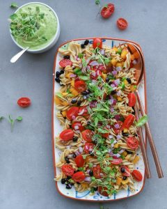 Mexican Black Bean Pasta