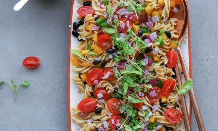 Mexican Black Bean Pasta Salad