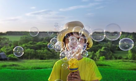 Make Your Own Organic Blowing Bubbles & Magic Bubble Wands