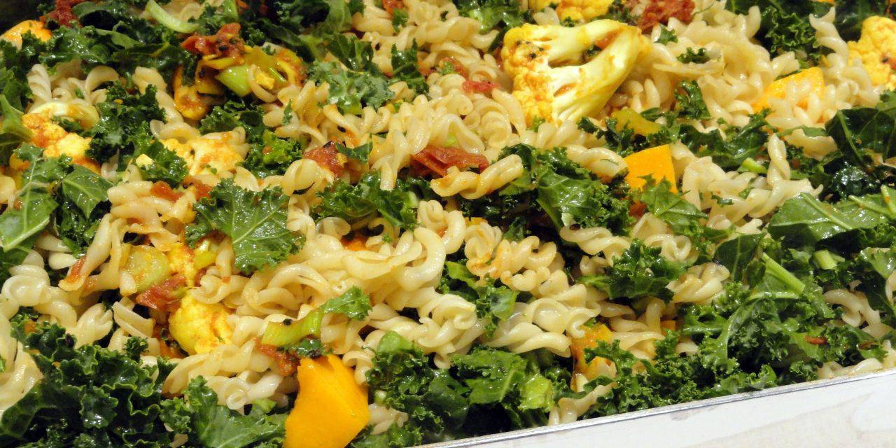 Organic Vegetarian Pasta Bake