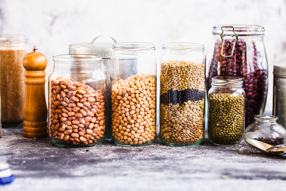 Pantry Staples Pant-Based Diet