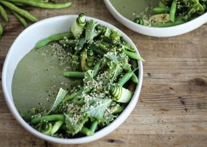 Protein green salad hormone balancing