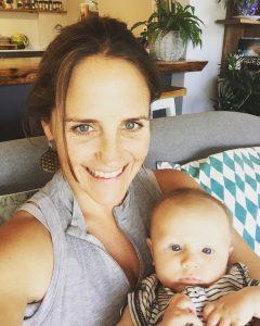 Robyn & baby