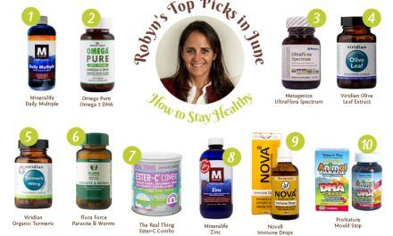 Robyn's Top Picks in June – How to Stay Healthy