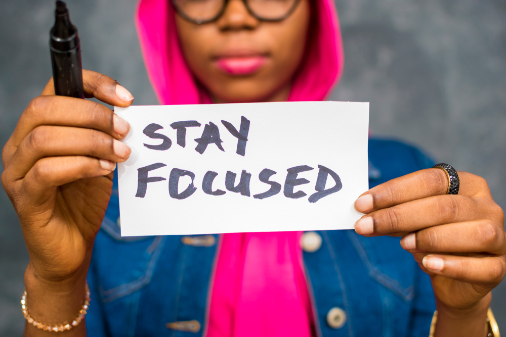 Stay focused in lockdown