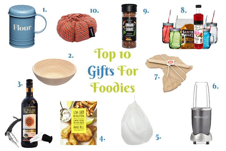 Top 10 for foodies