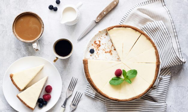 Simply Scrumptious Vegan Cheesecake