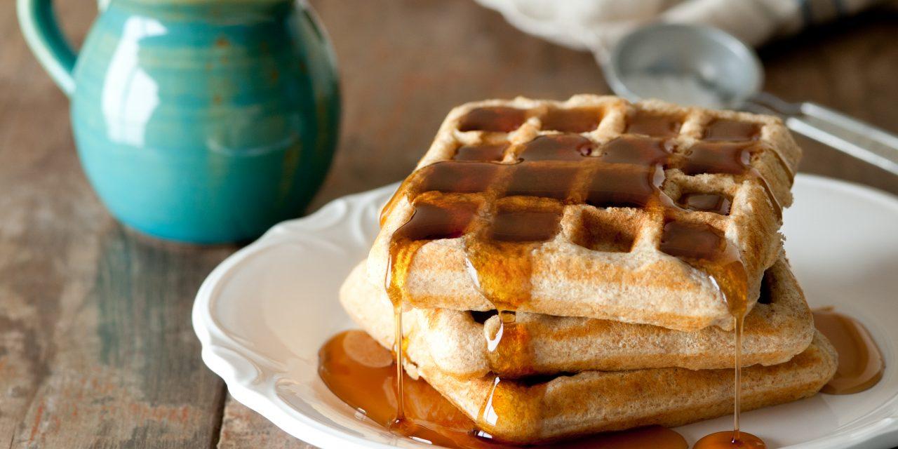 Kickass Kombucha Waffles