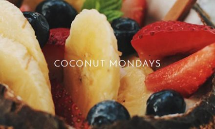Coconut Monday: A vanilla protein powder coconut smoothie