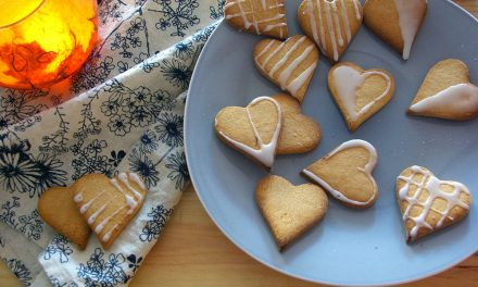 The easiest gluten-free gingerbread hearts for festive love and diy gifts