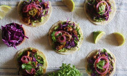 Jackfruit and Guacamole Tacos