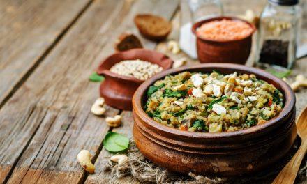 Quinoa with Oyster Mushrooms & Adzuki Beans