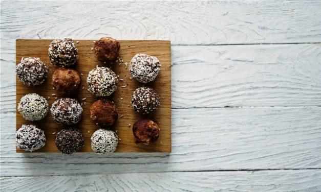 Salted Caramel Maca Balls