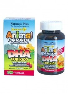 Animal Parade DHA Omega-3 Children's Chewable Tablets