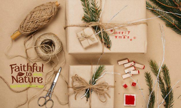 10 Stylish & Sustainable Gift Wrap Ideas
