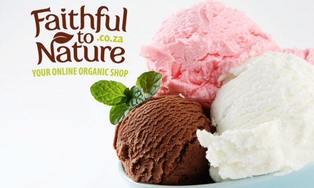 Vegan Ice-Cream In Three Classic Flavours