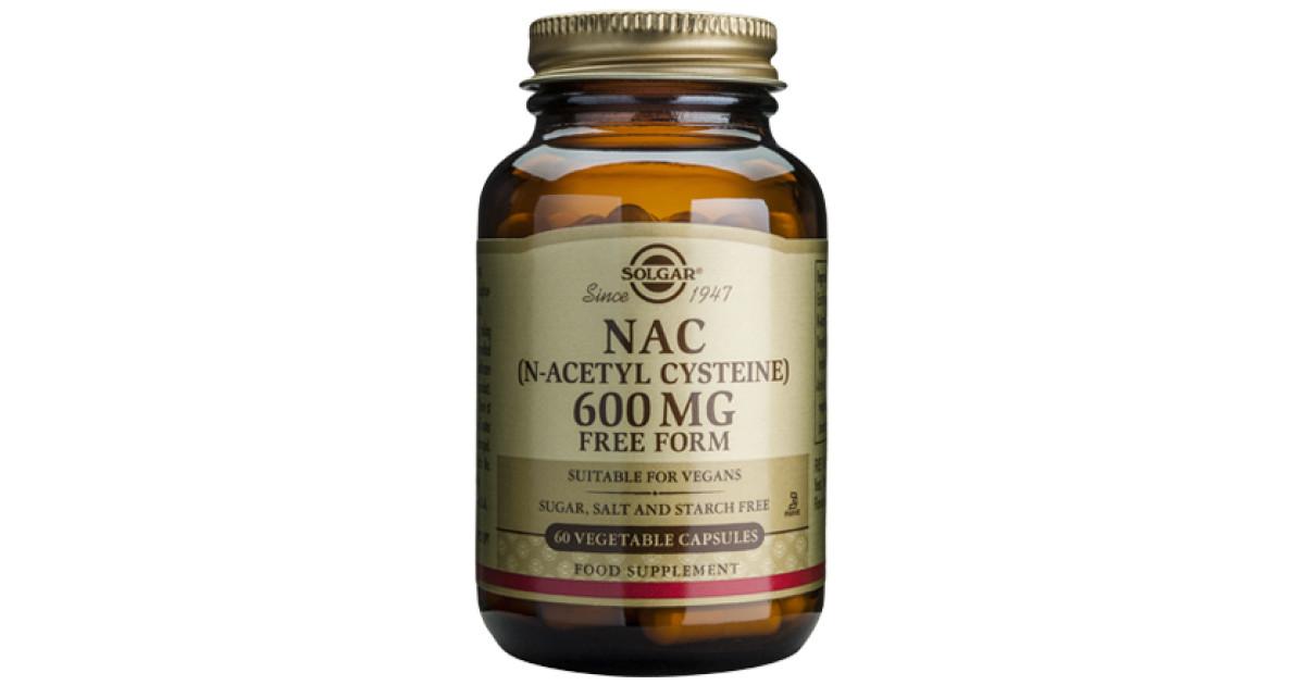 Buy Solgar NAC Vegicaps Online at Faithful to Nature